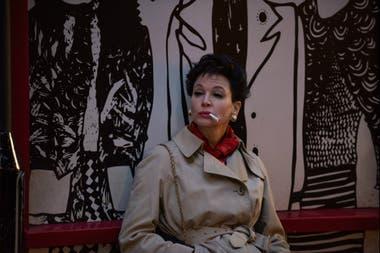 Judy recrea las turbulentas semanas en las que Garland fue la artista en residencia en The Talk of the Town, el club londinense, meses antes de su muerte, a los 47 años
