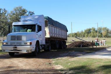 Se usaron 200 camiones para el traslado de la papa