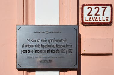 La casa de Raúl Alfonsín en Chascomús