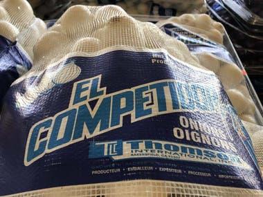 Una de las marcas que comercializa las cebollas de la empresa Thomson International, que fueron pasadas a retiro (U.S. Food and Drug Administration)