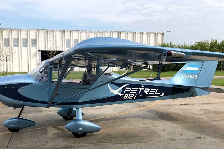 Petrel: el fabricante argentino de aviones ya prepara una versión con motor eléctrico junto con la Universidad de La Plata