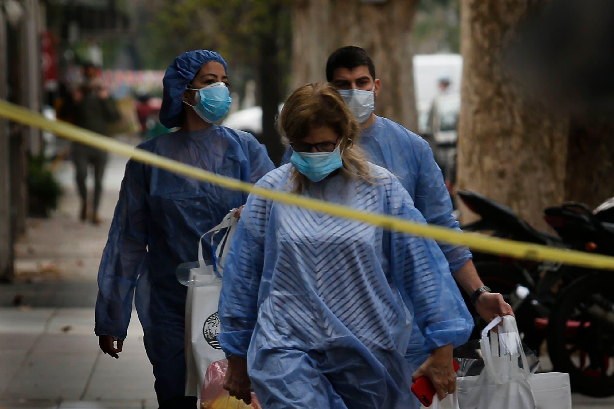 Coronavirus: reportan 515 fallecidos y la Argentina superó los 23.000 muertos