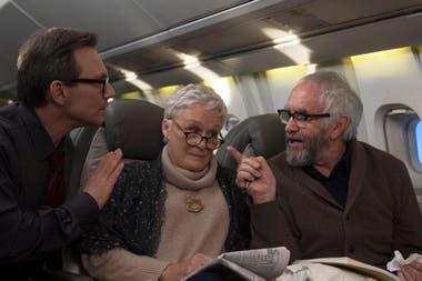 Glenn Close junto a Christian Slater y Jonathan Pryce en La esposa, su séptima nominación al Oscar