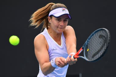 Nadia Podoroska derrotó a Greet Minnen en el Yarra Valley Classic