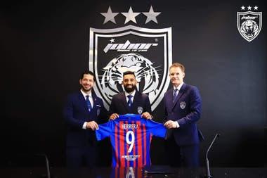 Herrera llegó a préstamo a Independiente tras su breve estadía en Johor