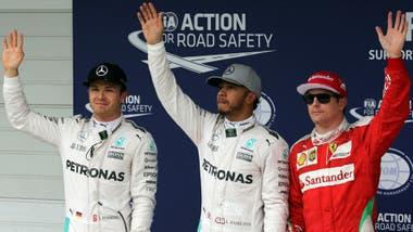 Gp di Gran Bretagna, Hamilton in pole position