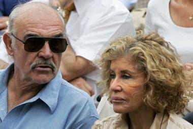 Sean Connery su última mujer, Micheline Roquebrune