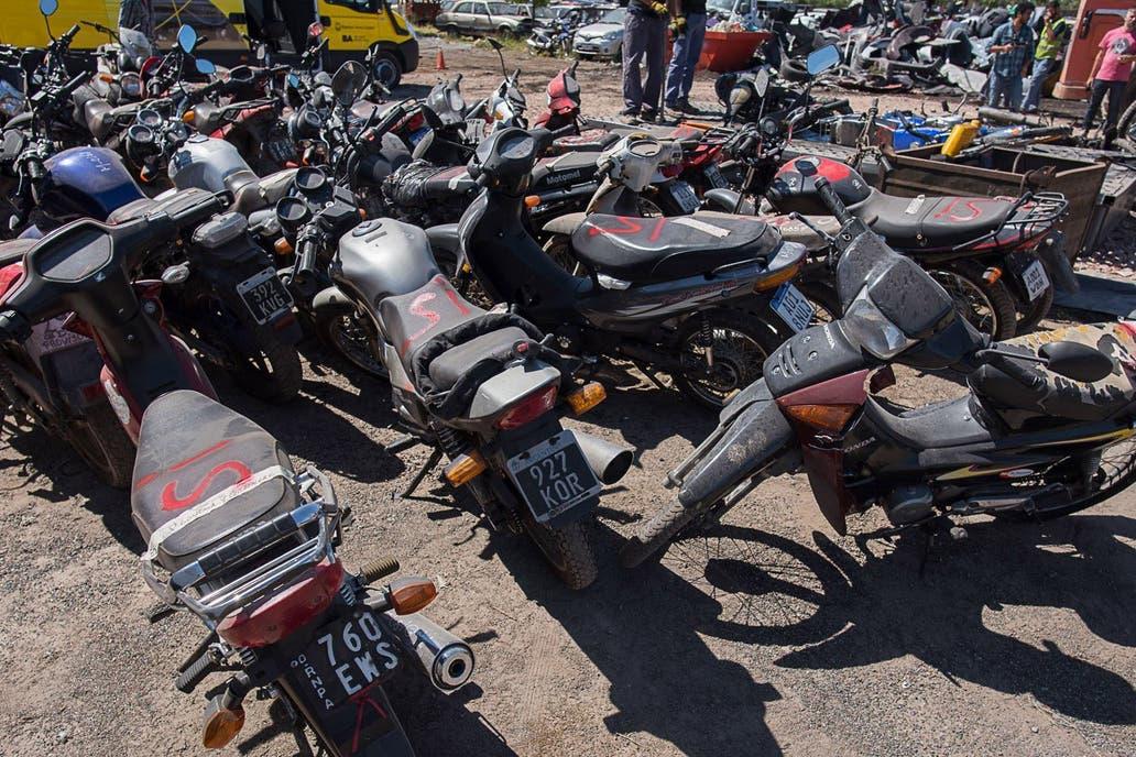 Las autoridades porteñas implementaron un sistema contra los motochorros al instalar cada día más de 50 operativos de verificación en las calles