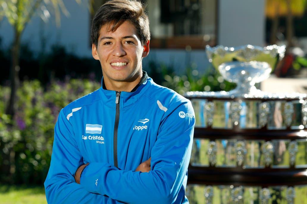 Sebastián Báez, número 1 del mundo junior
