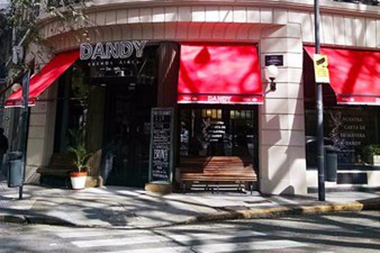 El bar Dandy, ubicado en Santa Fe y Esmeralda