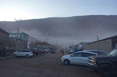 Las primeras imágenes del sismo de 5,6 grados sacudió el norte de Chile