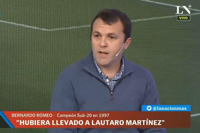 """Mundial Rusia 2018. Bernardo Romeo: """"Lautaro Martínez le podía haber dado algo distinto a la selección"""""""