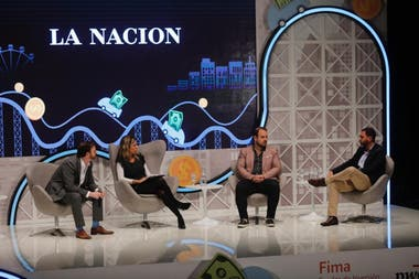 Chester, Gutiérrez Zaldivar y Dajcz estuvieron presentes en el Financial Summit