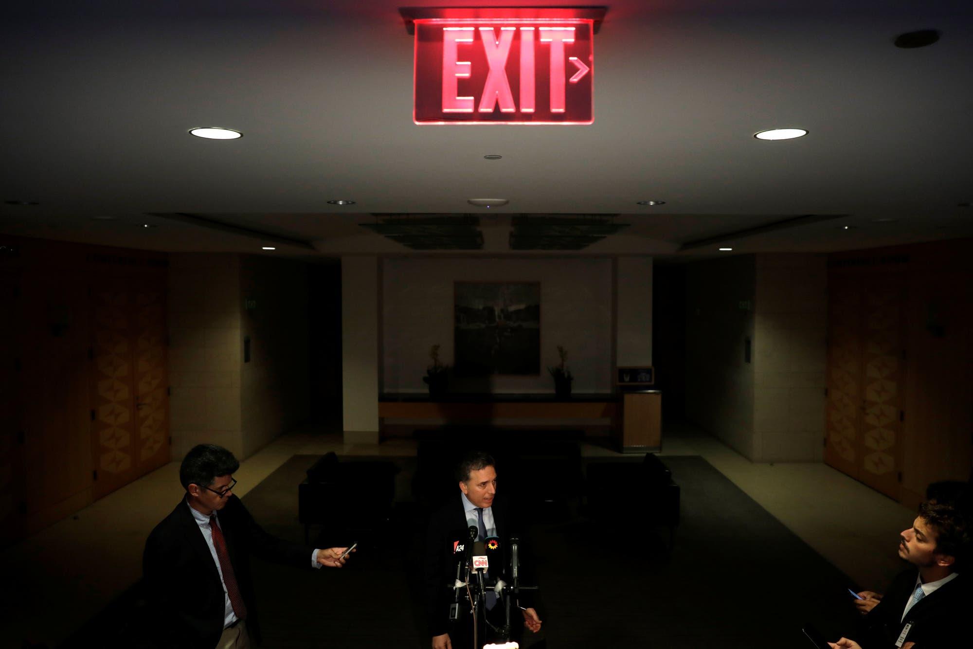 """Dujovne y Lagarde dijeron que hay """"avances"""" para el acuerdo"""