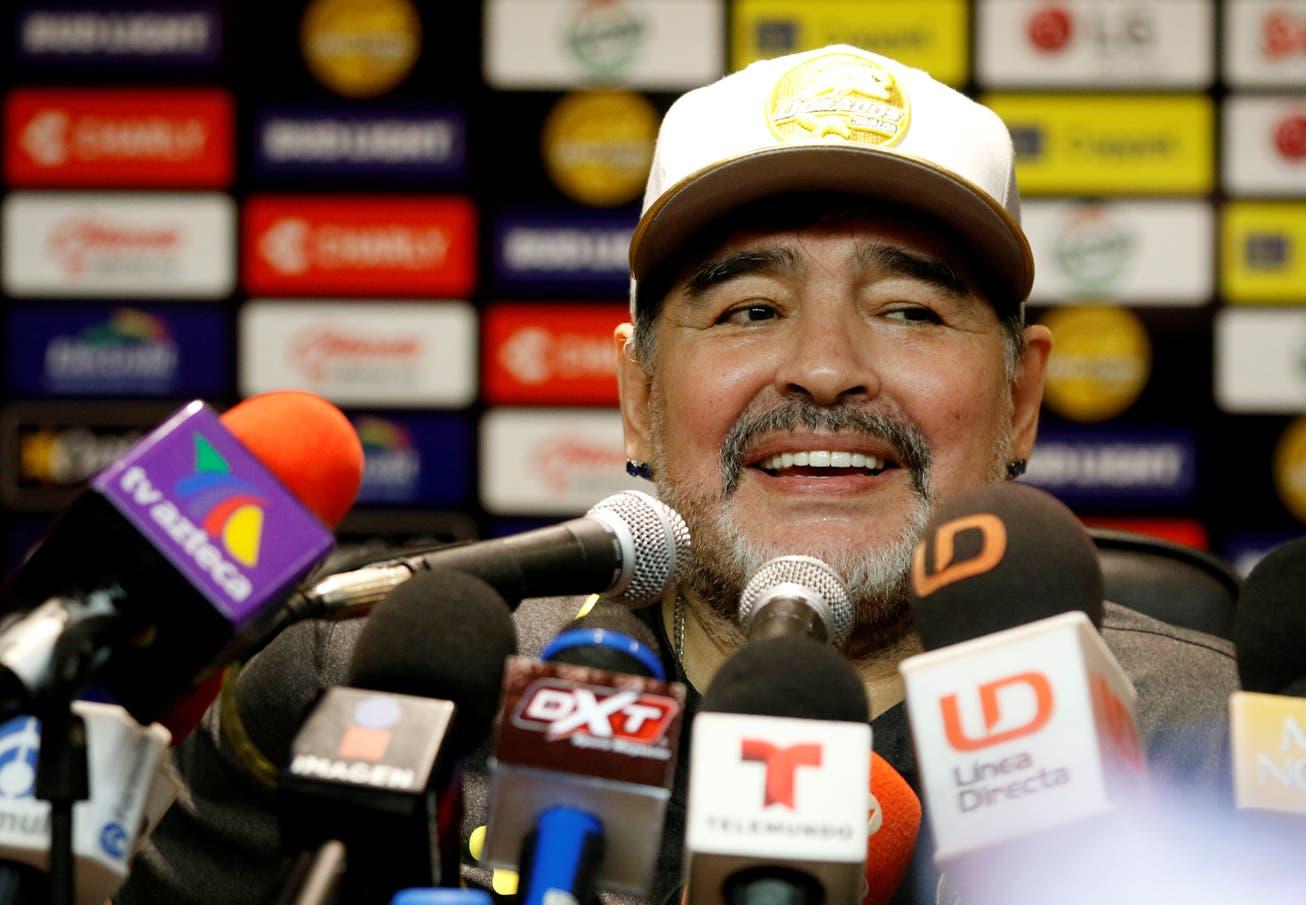 """Diego Maradona: la comparación de Sinaloa con la Bombonera y la crítica a """"la gente tonta"""""""