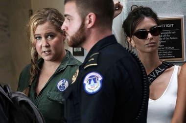 Fue en una manifestación de 5 mil mujeres contra el candidato al Tribunal Supremo de Estados Unidos, Brett Kavanaugh, acusado de abuso sexual