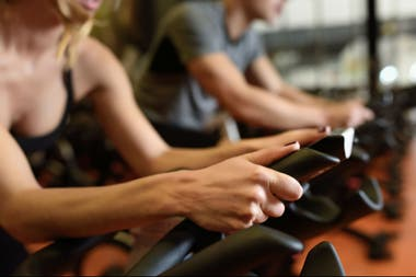 musculatura que se trabaja en spinning