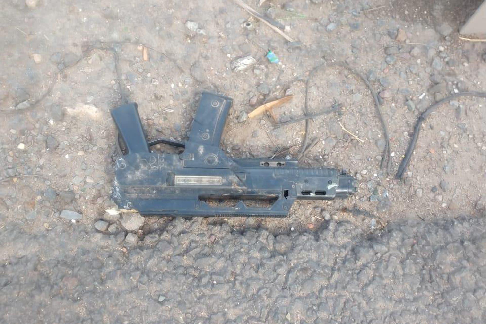 """Detuvieron al """"loco de la metralleta"""" en el camino del Buen Ayre"""