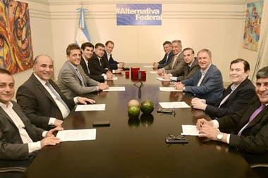 La última reunión de Alternativa Federal fue a fines de año