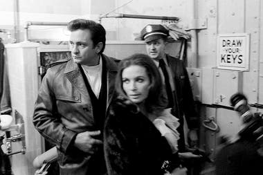 Cash y June Carter Cash en San Quentin, 1969