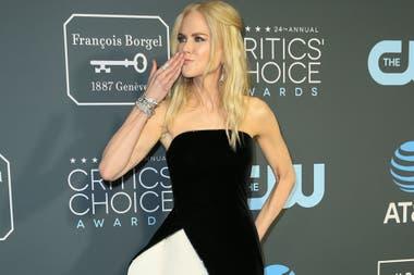 Nicole Kidman suma 22 millones de dólares, gracias a su versatilidad en el mundo de las series.