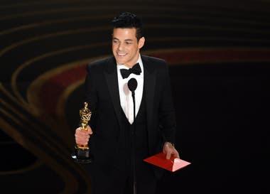 Rami Malek acepta el Oscar por Mejor actor