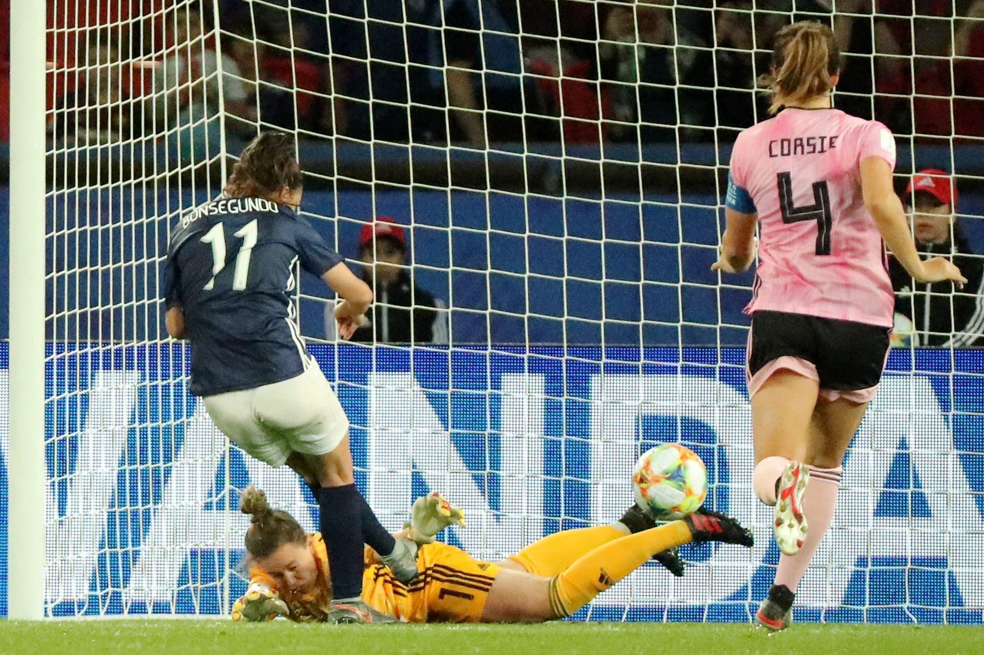 Mundial Francia 2019. Cómo fueron los 5 minutos finales inolvidables de la selección femenina