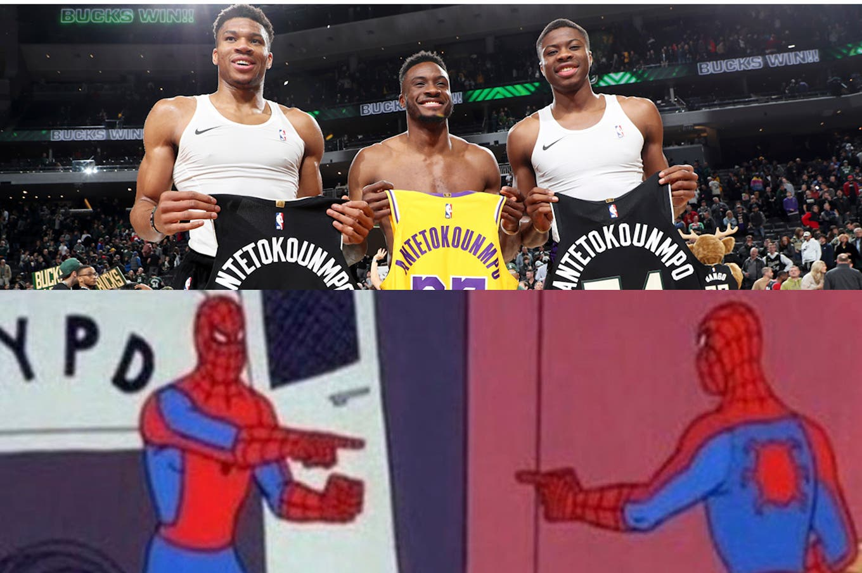 NBA: El encuentro de los hermanos Antetokounmpo, un hito en la historia de la mejor liga del mundo