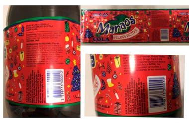 Etiquetas de la Manaos Felices Fiestas