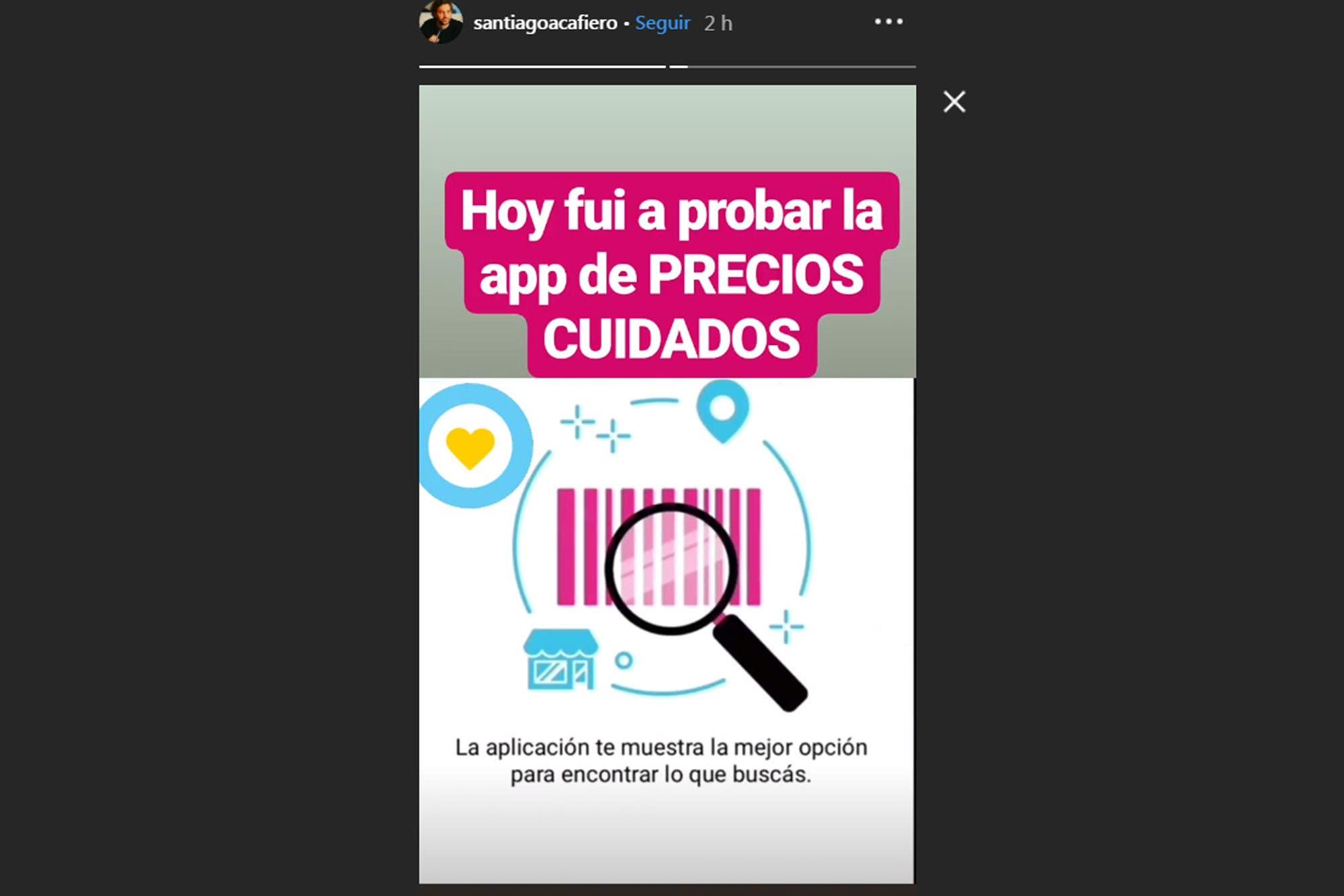 Santiago Cafiero mandó a los ministros al supermercado a relevar Precios Cuidados