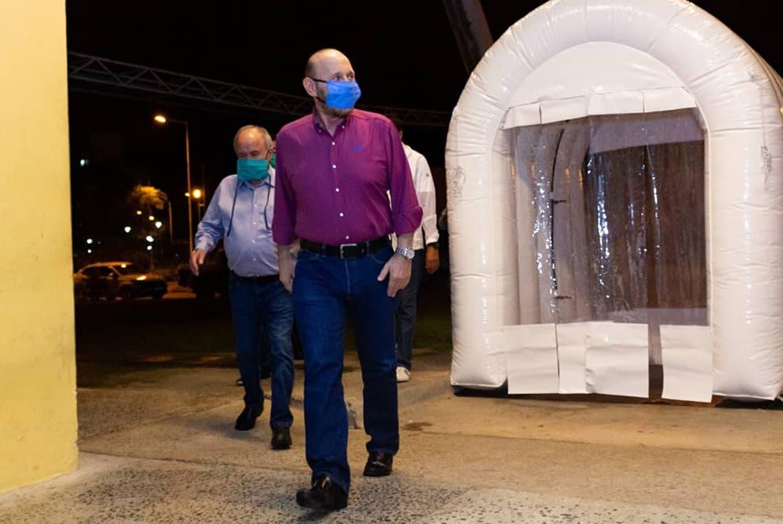 Coronavirus en la Argentina: la provincia sin contagios que inauguró un hospital de campaña de 240 camas