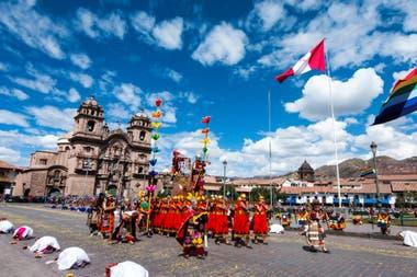 El Inti Raymi es una de las celebraciones más importantes en Cuzco, que se remonta a los tiempos incaicos