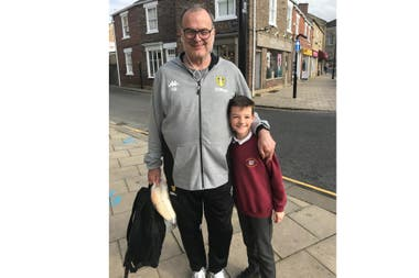 In the streets of Wetherby, seeing Bielsa became common.