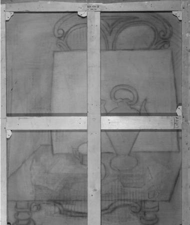 Probablemente fue influenciado por los interiores de la casa y el estudio en la que residía y trabajaba Picasso en París. Fuente: Instituto de Arte de Chicago.