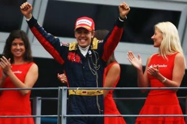 El triunfo de Vettel en Monza en 2008, con Toro Rosso