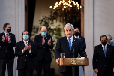 Piñera, con su nuevo gabinete de ministros tras los recientes cambios