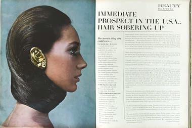 Eduardo Costa y la Fashion Fiction 1, un hito que llegó en 1968 a la revista Vogue, fotografiado por Richard Avedon