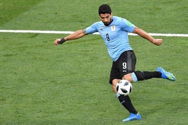 Luis Suárez, pieza clave en el ataque de la selección de Uruguay