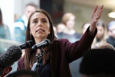 La primera ministra de Nueva Zelanda Jacinda Ardern