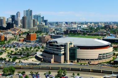 Pepsi Center, el estadio donde juega como local Denver Nuggets.