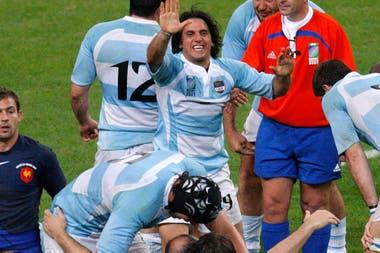 Agustín Pichot, el emblema del seleccionado nacional en el histórico Mundial 2007