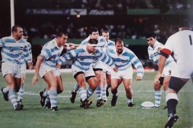 Los Pumas perdieron frente a Inglaterra por 24-18 en Sudáfrica 1995, en el Kings Park Stadium de Durban