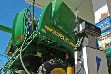 En la cosecha se registra el mayor consumo del combustible