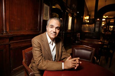 Marcelo Beccaceci, autor del libro Gauchos de Malvinas
