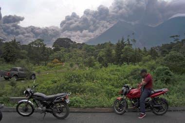 La comunidad del Rodeo fue una de las más afectadas por la erupción