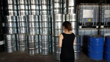 Los investigadores encontraron barriles de compuestos químicos en China que contenían CFC-11