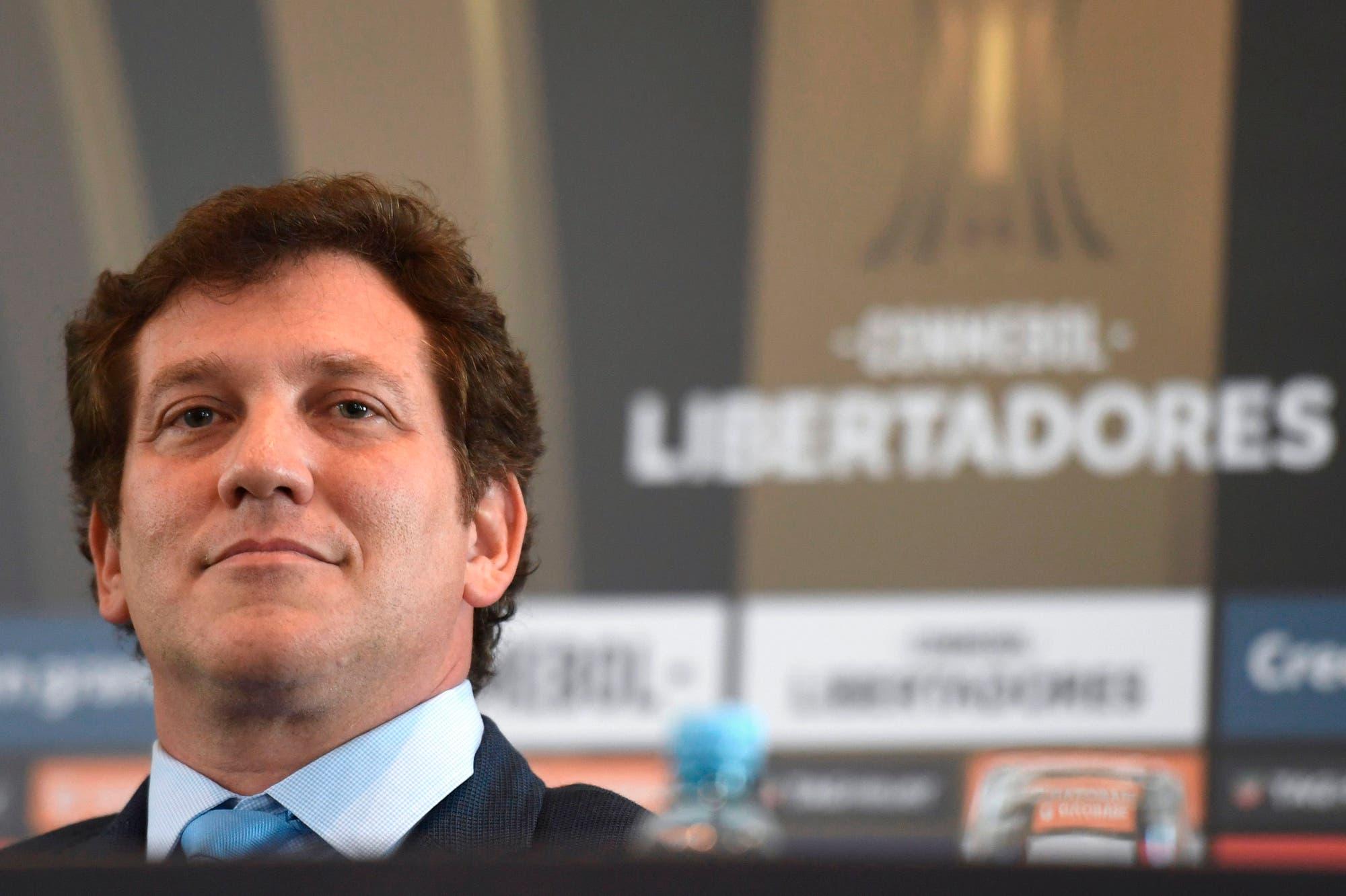 """""""La Libertadores es el fútbol de verdad, la Champions es fútbol de PlayStation"""", dice el presidente de la Conmebol"""