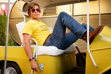 Brad Pitt en Once Upon a Time in Hollywood