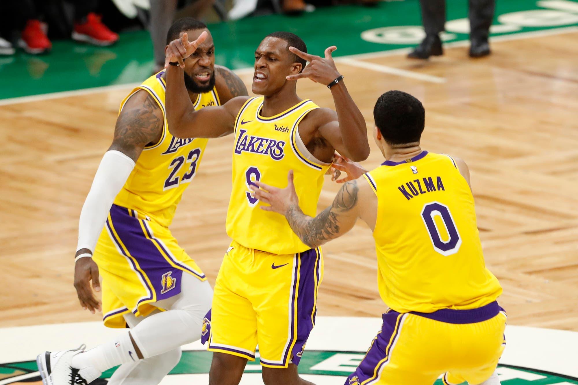 NBA: el increíble triunfo de Los Angeles Lakers sobre Boston Celtics en el último instante