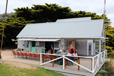 El Swing Bridge Café, un restaurante muy recomendable en Lorne